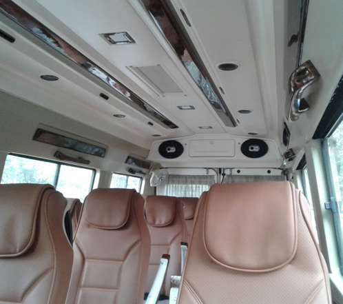 12 seater luxury tempo traveller hire gurgaon